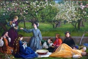 John Everett Millais's 'Spring'